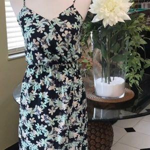 🌿Banana Republic Faux Wrap Maxi Dress